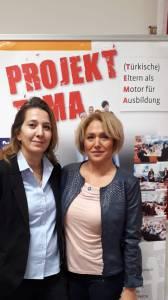 Mitarbeiterinnen im Projekt TEMA